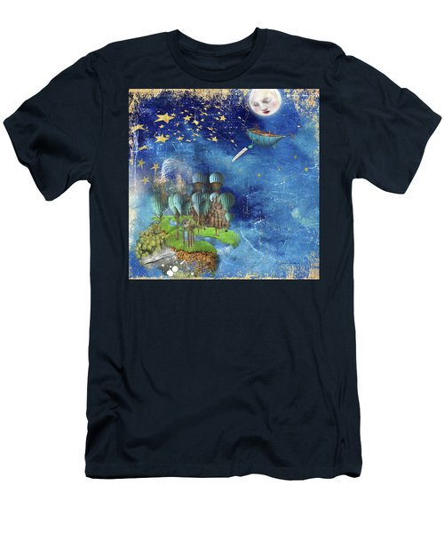 Starfishing In A Mystical Land Men's T-Shirt (Athletic Fit)