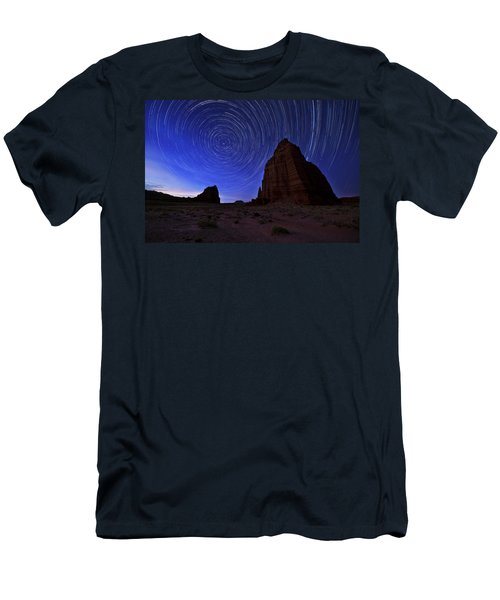 Stars Above The Moon Men's T-Shirt (Athletic Fit)