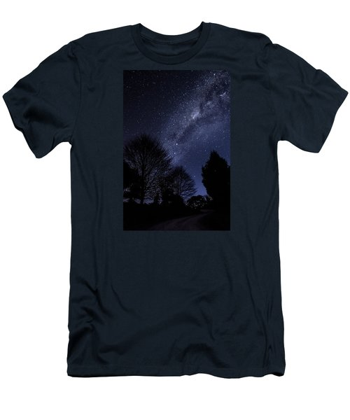 Stars And Trees Men's T-Shirt (Athletic Fit)
