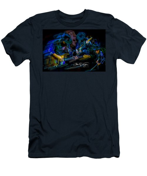Stevie Ray Vaughan - Double Trouble Men's T-Shirt (Athletic Fit)