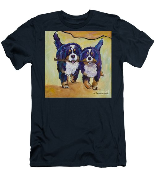 Stick Together Men's T-Shirt (Athletic Fit)