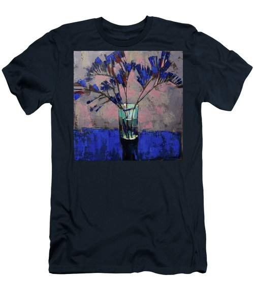Still Life. Blue Crystal. Men's T-Shirt (Athletic Fit)