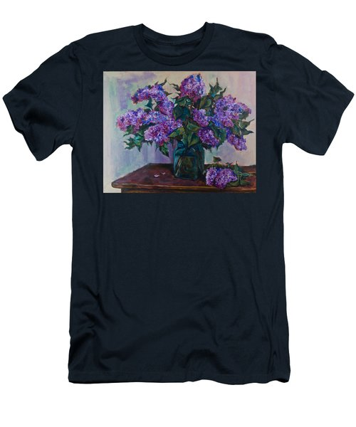 Still Life With Lilac  Men's T-Shirt (Athletic Fit)