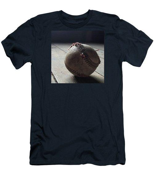 Baseball Still Life Men's T-Shirt (Slim Fit) by Andrew Pacheco