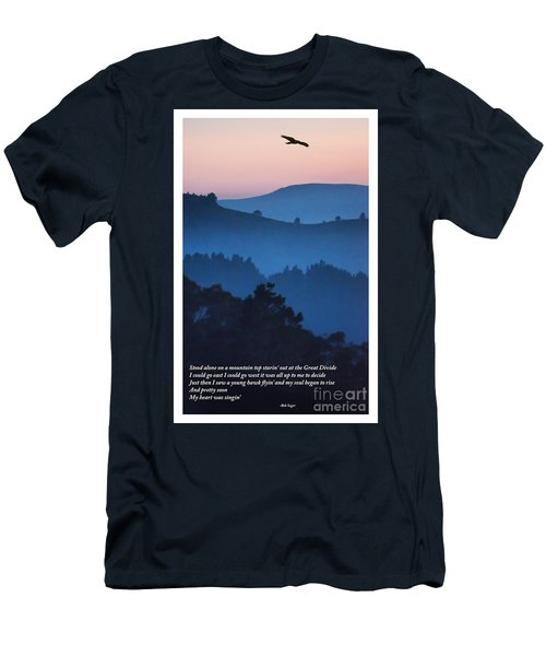 Stood Alone On The Mountain Top Men's T-Shirt (Athletic Fit)