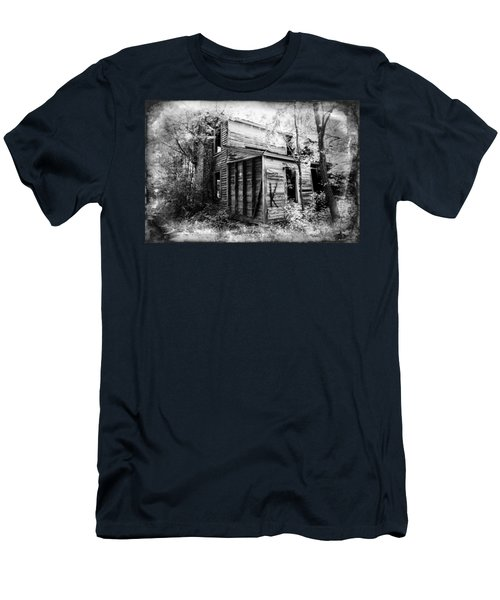 Men's T-Shirt (Slim Fit) featuring the photograph Stories by Jessica Brawley