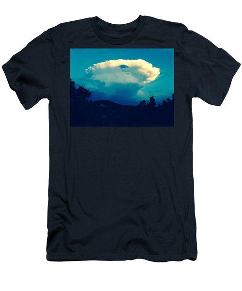 Storm Over Santa Fe Men's T-Shirt (Athletic Fit)