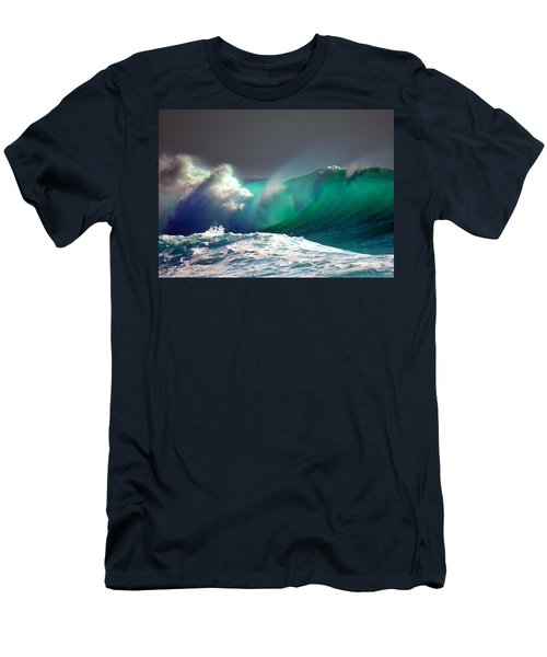 Storm Wave Men's T-Shirt (Athletic Fit)