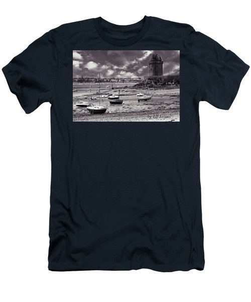 Men's T-Shirt (Athletic Fit) featuring the photograph Stormy Weather by Elf Evans