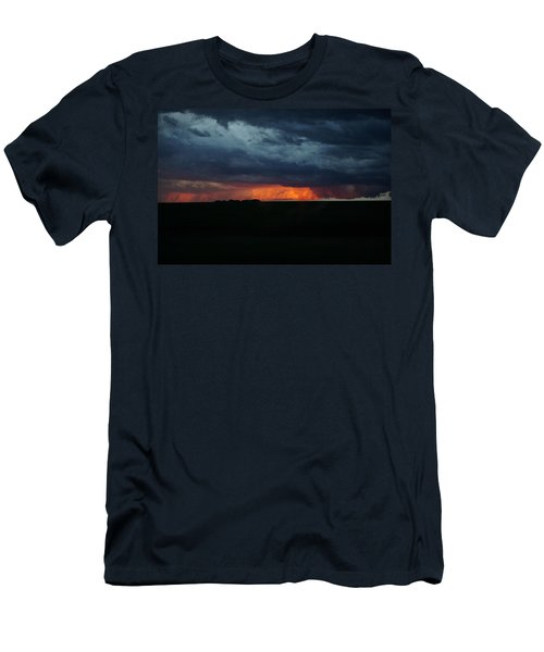 Stormy Weather Men's T-Shirt (Slim Fit) by Kathy M Krause