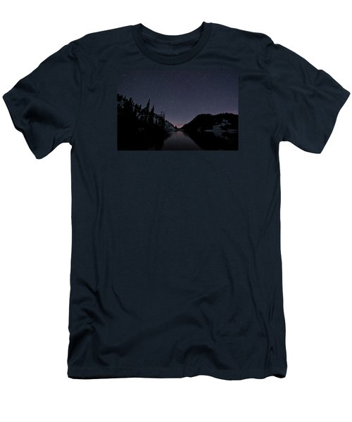 Strawberry Lake Men's T-Shirt (Athletic Fit)