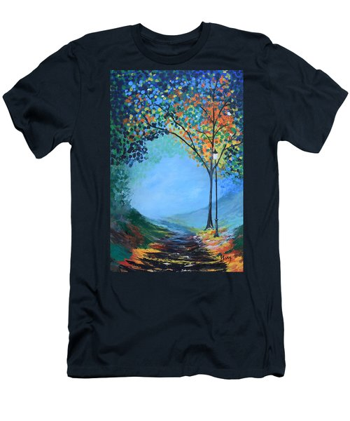 Street Lamp Men's T-Shirt (Slim Fit) by Gary Smith