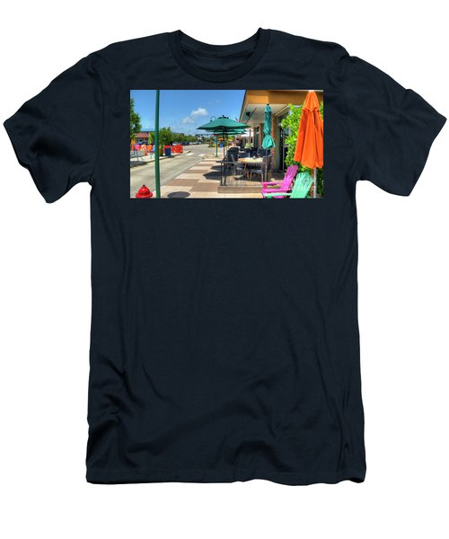 Streetside Dining Men's T-Shirt (Athletic Fit)