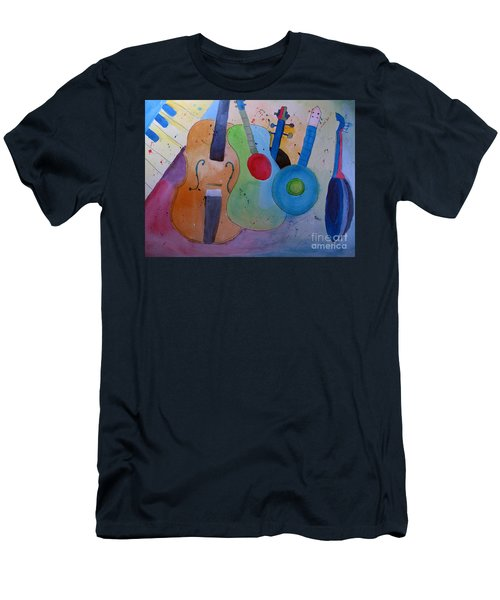 Strings Men's T-Shirt (Athletic Fit)