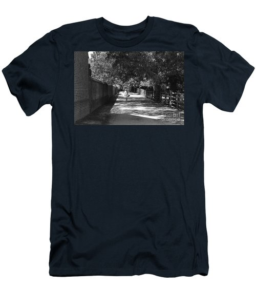 Men's T-Shirt (Slim Fit) featuring the photograph Stroll To Store by Eric Liller