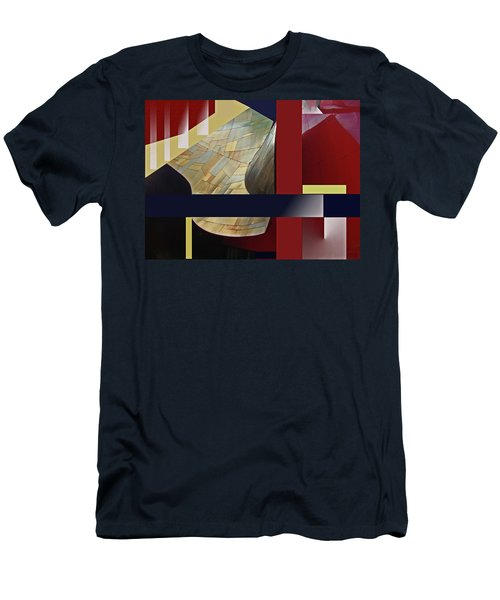 Structure 0217 Men's T-Shirt (Slim Fit) by Walter Fahmy