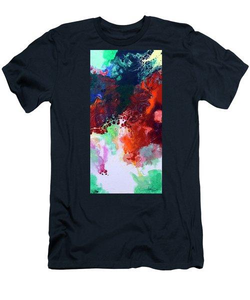 Subtle Vibrations, Canvas Five Of Five Men's T-Shirt (Athletic Fit)