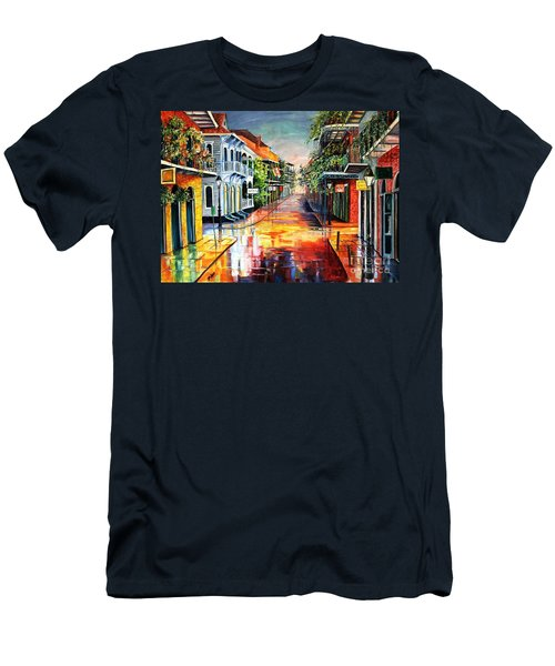 Summer Day On Royal Street Men's T-Shirt (Athletic Fit)