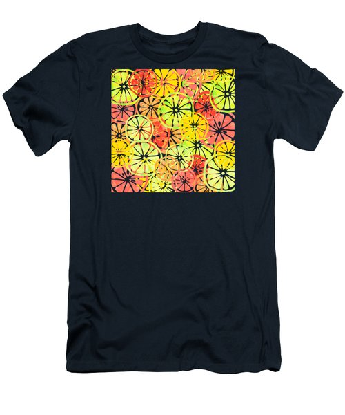 Summer Lemons Men's T-Shirt (Athletic Fit)