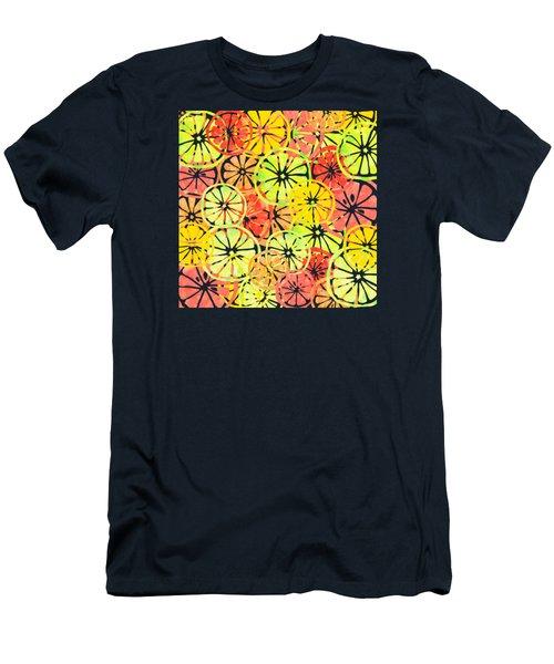 Summer Lemons Men's T-Shirt (Athletic Fit)