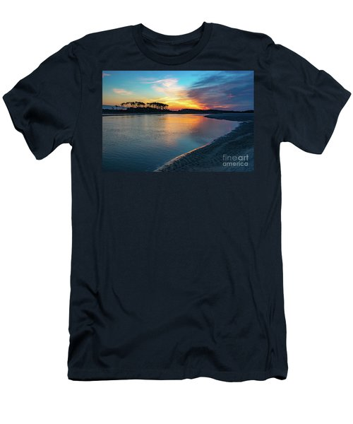 Summer Sunrise At The Inlet Men's T-Shirt (Athletic Fit)