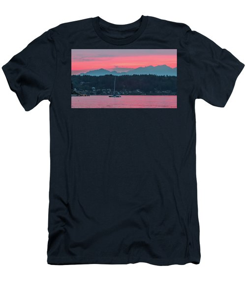 Summer Sunset Over Yukon Harbor.5 Men's T-Shirt (Athletic Fit)