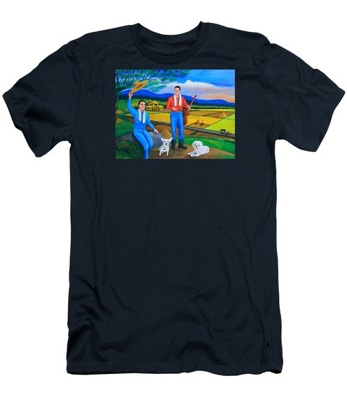 Summer View Men's T-Shirt (Athletic Fit)