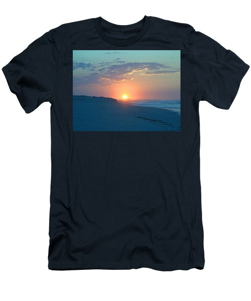 Men's T-Shirt (Slim Fit) featuring the photograph Sun Glare by  Newwwman