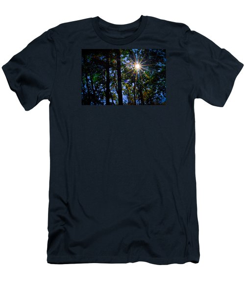 Sun Star Men's T-Shirt (Slim Fit) by Carlee Ojeda