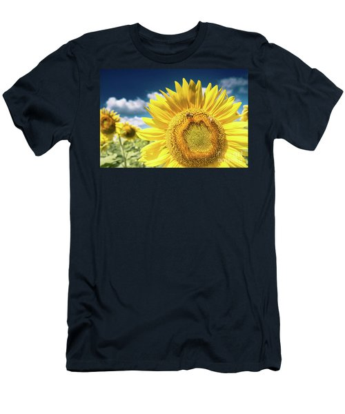 Sunflower Dreams Men's T-Shirt (Athletic Fit)