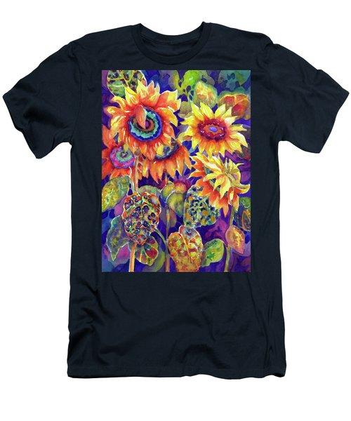 Sunflower Garden I Men's T-Shirt (Athletic Fit)