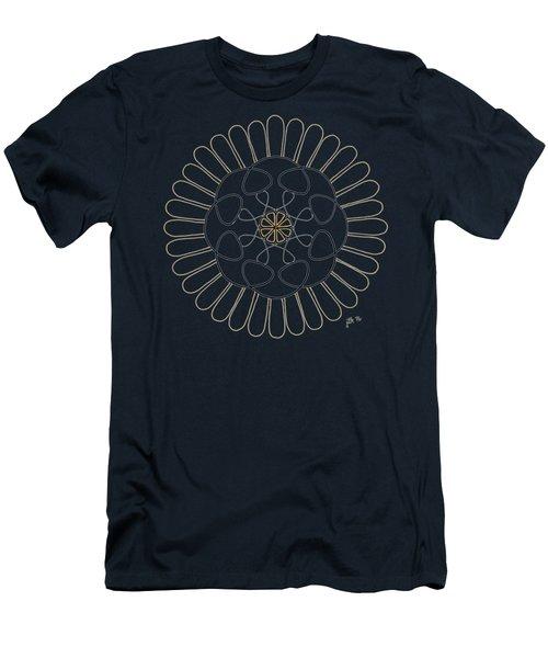Sunny - Dark T-shirt Men's T-Shirt (Slim Fit) by Lori Kingston