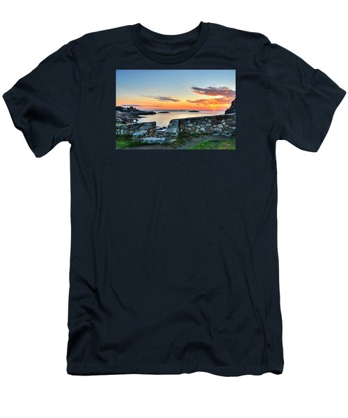 Sunrise At Castle Rock Marblehead Ma Men's T-Shirt (Athletic Fit)