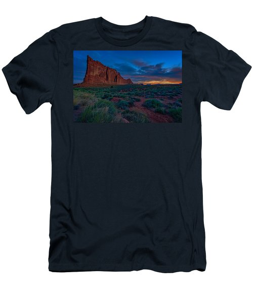 Sunrise At Courthouse Towers Men's T-Shirt (Athletic Fit)