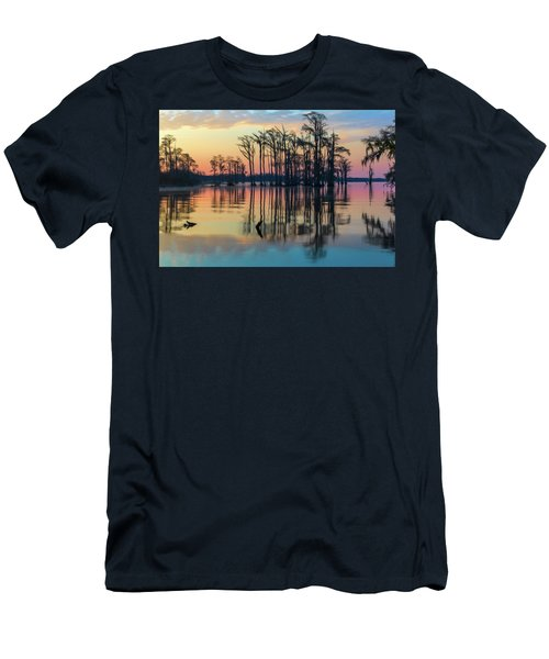 Sunrise, Bald Cypress Of Nc  Men's T-Shirt (Athletic Fit)