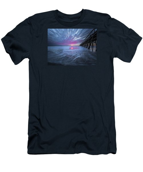 Sunrise Color Men's T-Shirt (Athletic Fit)