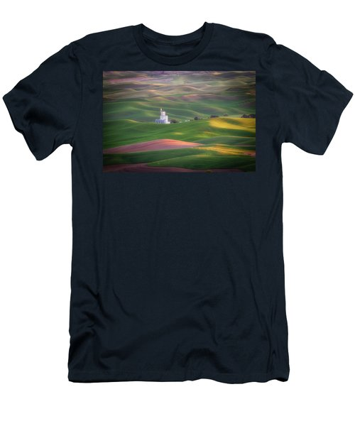 Sunrise From Steptoe Butte. Men's T-Shirt (Athletic Fit)