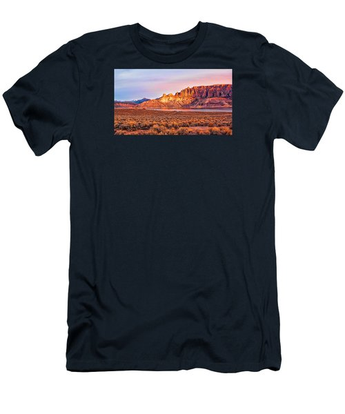 Sunrise On Dillon Pinnacles Men's T-Shirt (Athletic Fit)