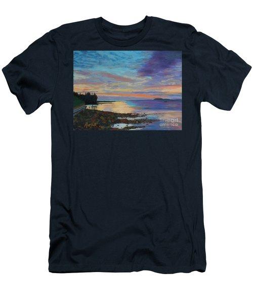 Sunrise On Tancook Island  Men's T-Shirt (Athletic Fit)