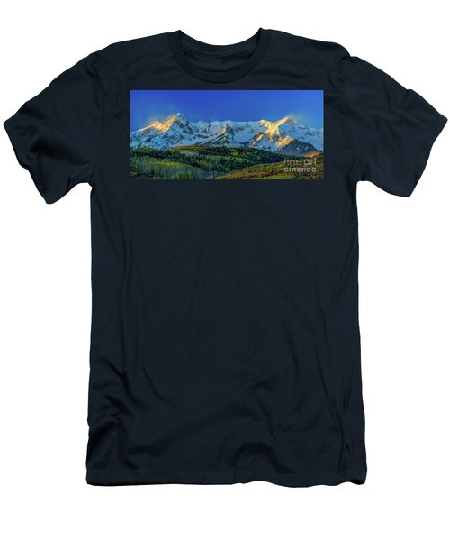 Sunrise On The Dallas Divide Men's T-Shirt (Athletic Fit)