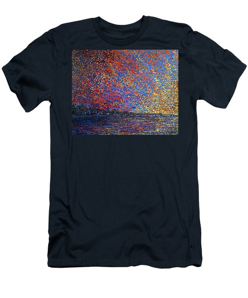 Sunrise Over St Andrews Nb Men's T-Shirt (Athletic Fit)
