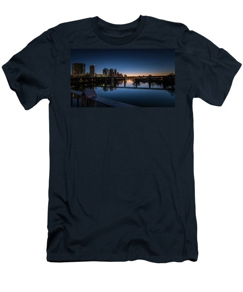 Sunrise Reflections Men's T-Shirt (Athletic Fit)