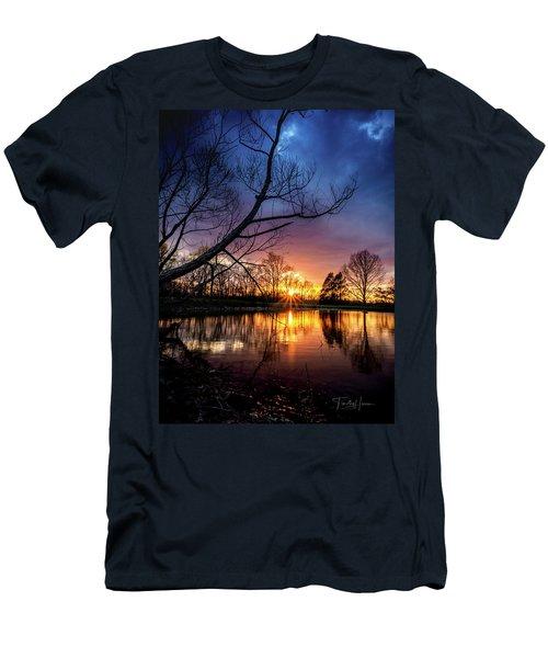 Sunset #10 Men's T-Shirt (Athletic Fit)
