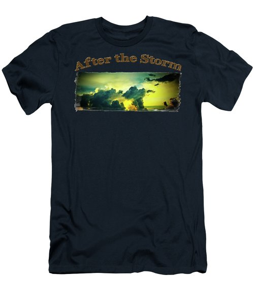 Sunset After The Storm Men's T-Shirt (Athletic Fit)
