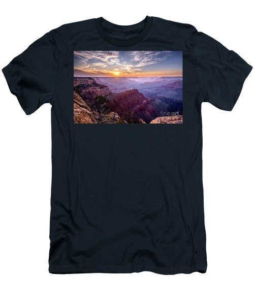 Sunset At Grand Canyon Men's T-Shirt (Athletic Fit)