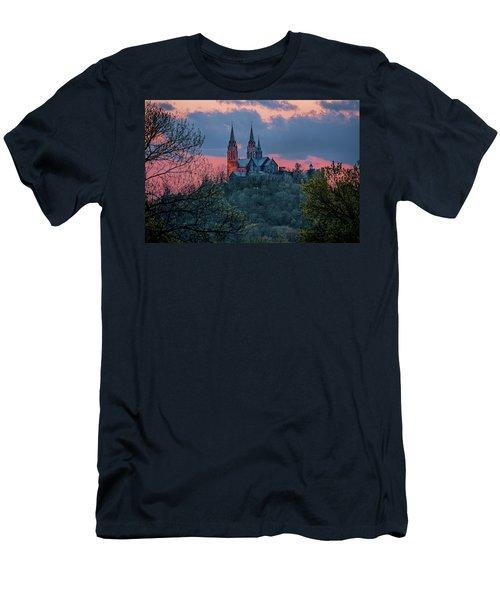 Sunset At Holy Hill Men's T-Shirt (Athletic Fit)
