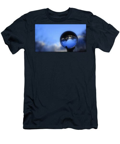 Sunset Ball Men's T-Shirt (Athletic Fit)
