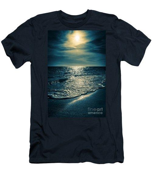 Sunset Bowman Beach Sanibel Florida Men's T-Shirt (Athletic Fit)