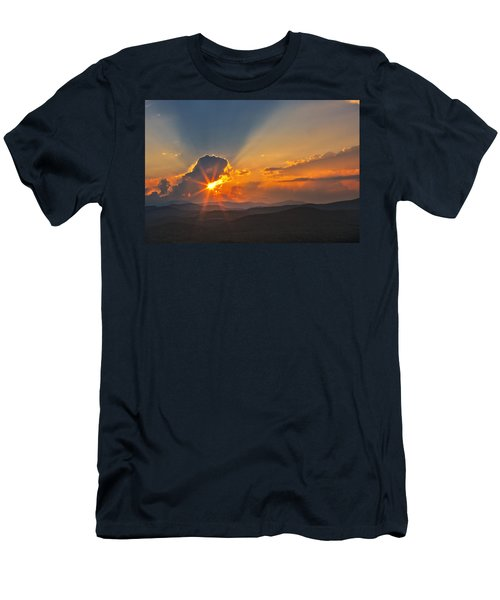 Sunset - Close Another Day Men's T-Shirt (Athletic Fit)