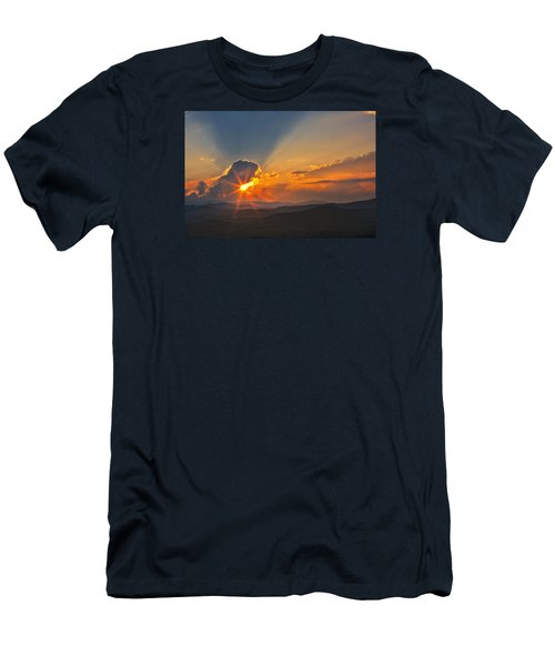 Men's T-Shirt (Athletic Fit) featuring the photograph Sunset - Close Another Day by Ken Barrett